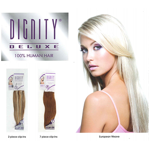 dignity deluxe human hair 2 Piece 7 piece