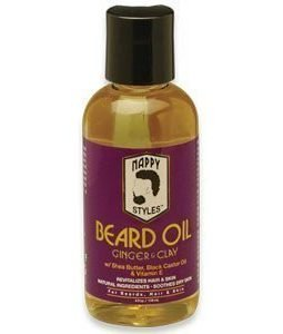 beard oil ginger clay