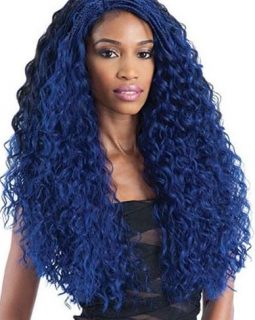 FreeTress Equal Lace Front Wig – Flexi Curl Braids